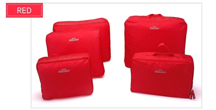 Jual 5in1 Tas Travel Bag In Bag Storage Baju Celana Kopor