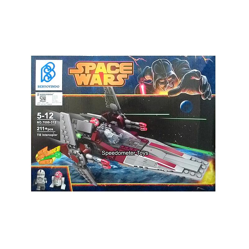 Jual Lego China Murah Merk Bertoyindo Star Wars V-wing ...