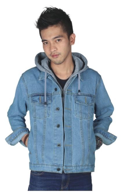 jual jaket jeans cowok jean priadenim lakilaki jaket