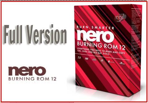 nero burning rom 12 full version