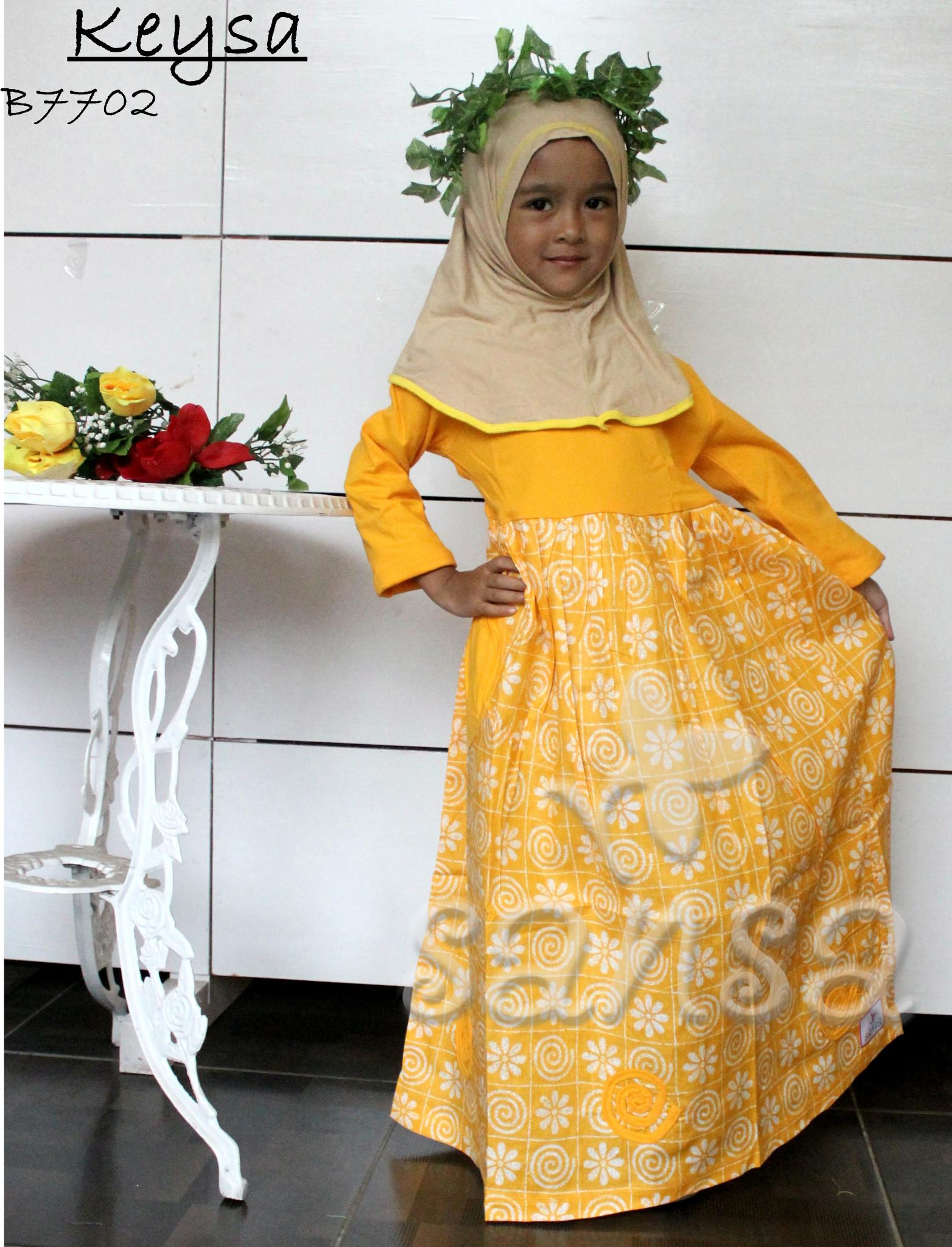 Jual Gamis Katun Anak Keysa Elener Fashion Tokopedia