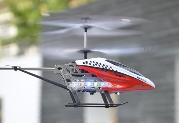 R/C HELICOPTER HX 703 3,5 CHANNEL GHYROSCOPE + ADAPTOR LISTRIK