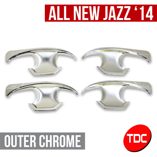 Outer Chrome Variasi/Aksesoris Honda All New Jazz 2014