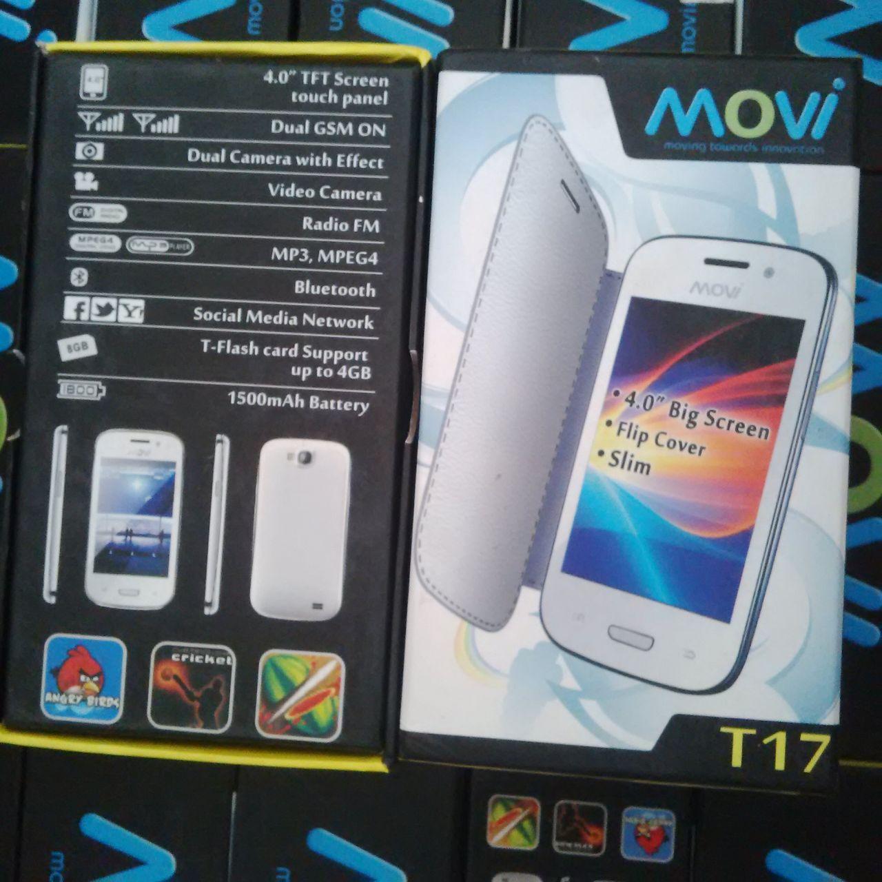 Hp touchscreen 4 inch dual gsm termurah movi T17