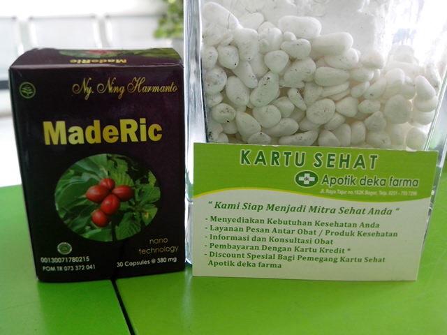 jual maderic herbal jamu atasi asam urat dan rematik