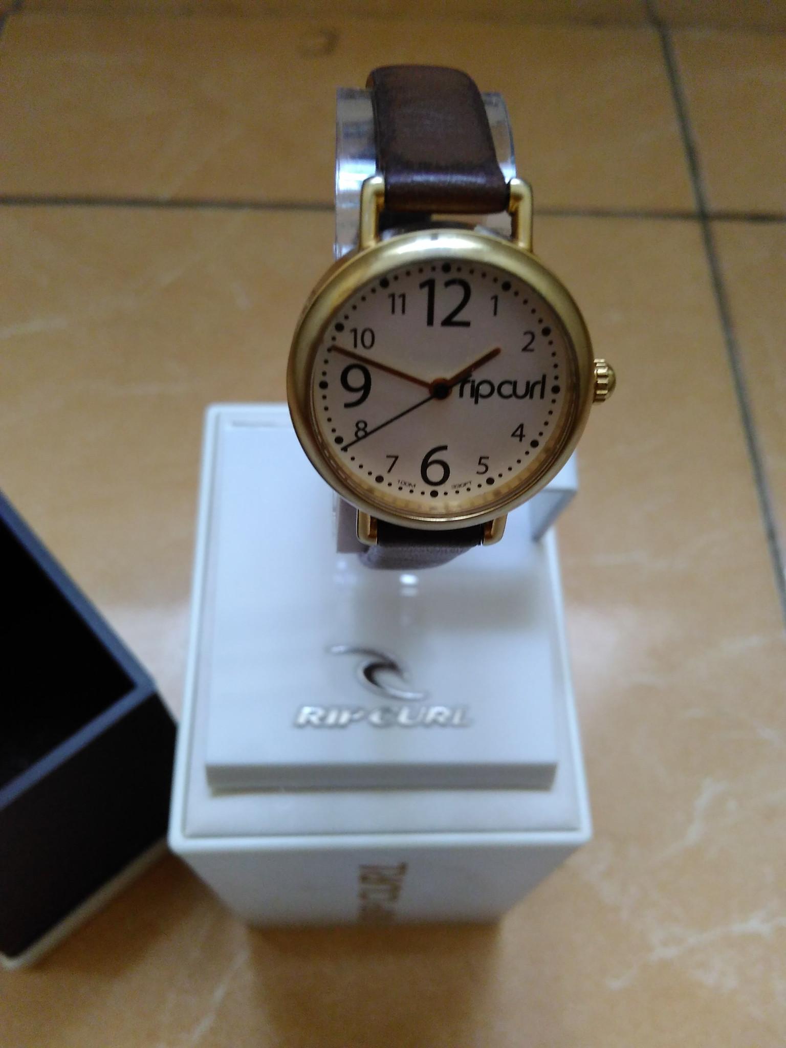 jam tangan analog rip curl lady cewek a2519g original murah