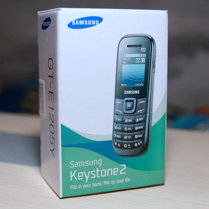 Samsung E1205 Keystone 2 White