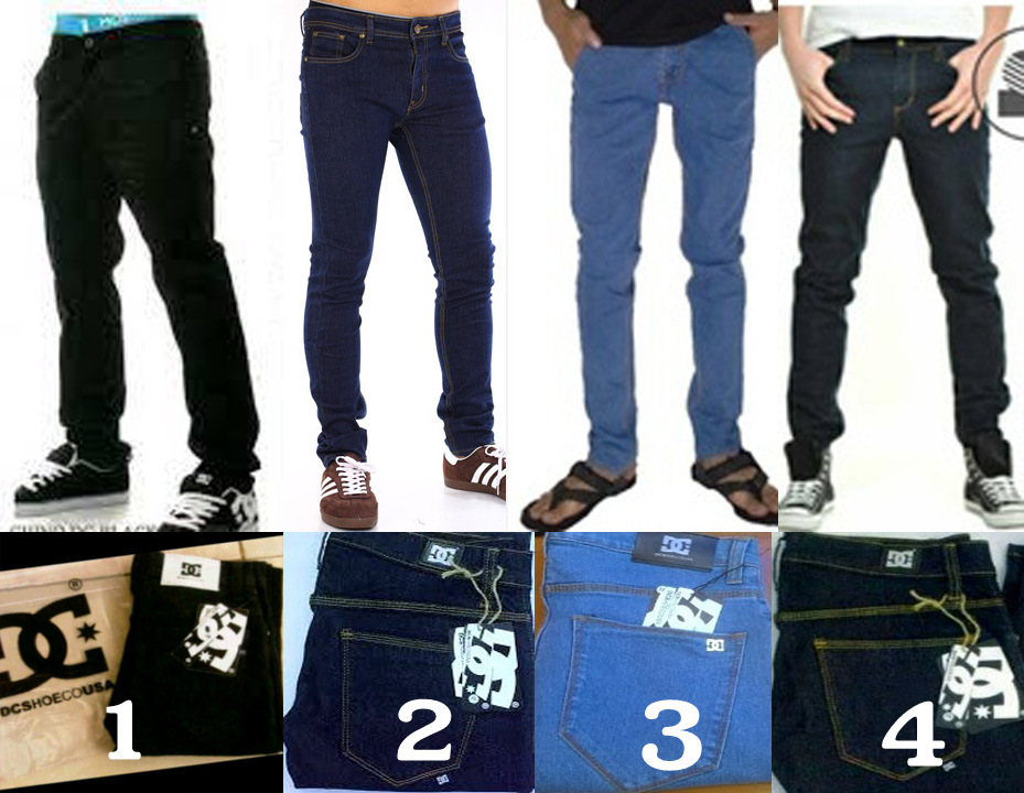 Dnr Celana Jeans Denim Pria Stretch Hitam Harga Daftar Harga Source Jual GROSIR .
