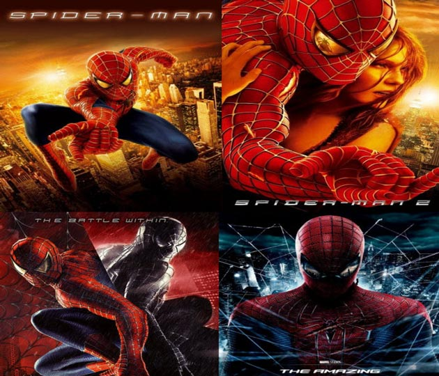 Complete Spider-Man Series Watch Online English Full Movies *BluRay*