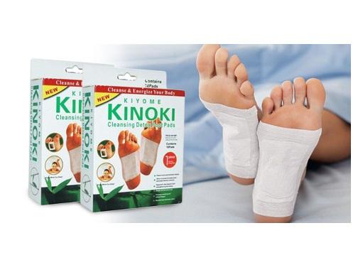 kinoki toxin koyo tempel detox foot patch