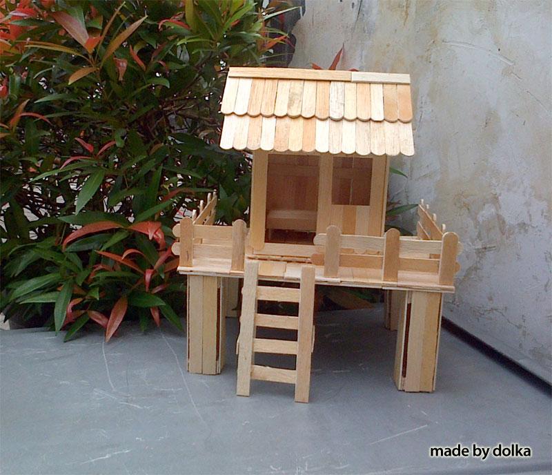 Gambar Rumah Sederhana Dari Stik Es Krim 15 Koleksi Keren Mewarnai