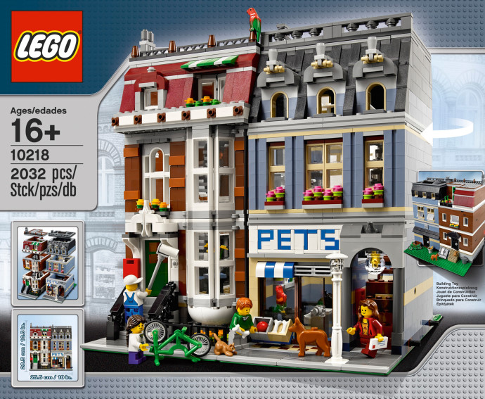 LEGO # 10218 EXCLUSIVE - CREATOR PET SHOP