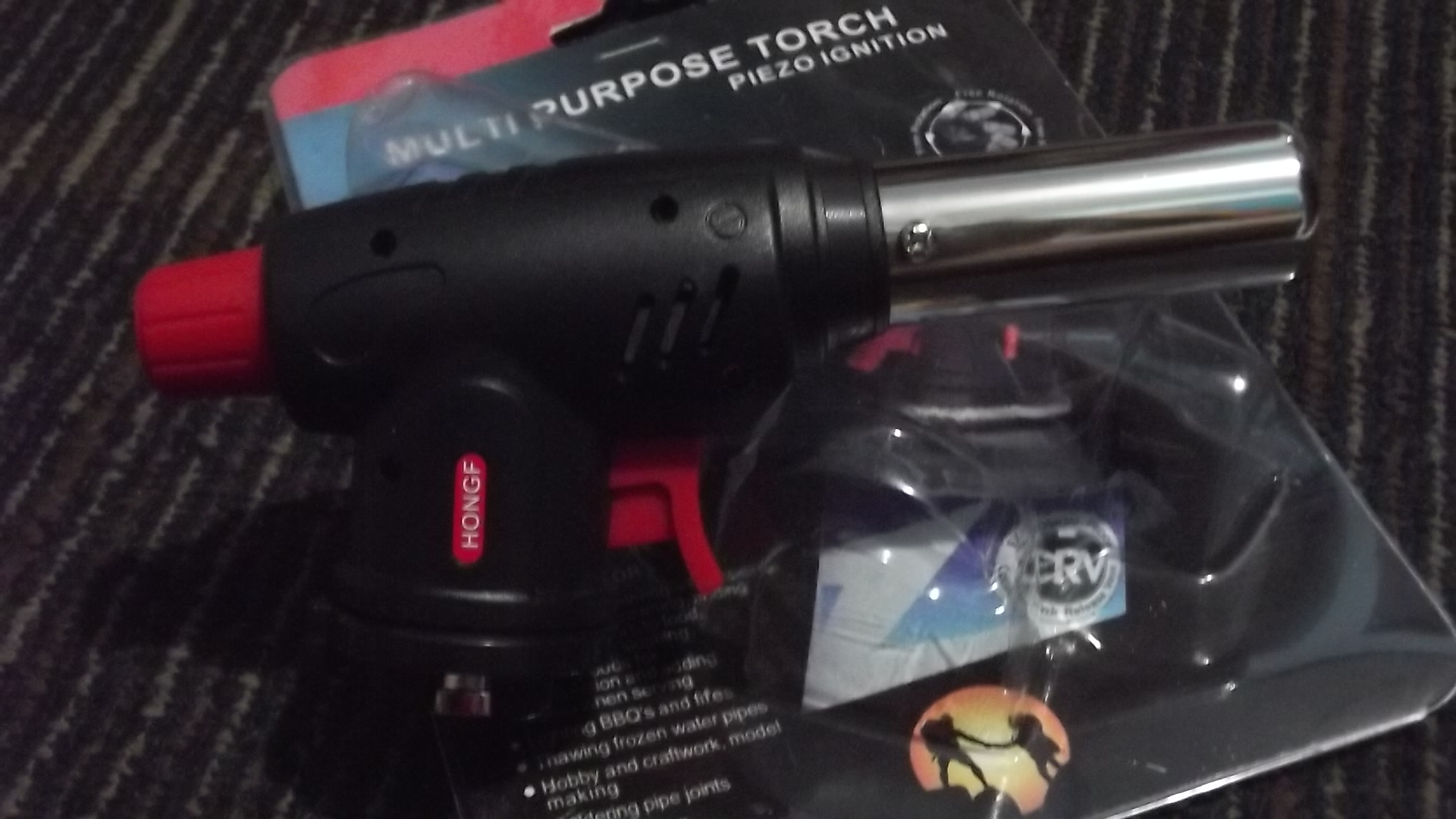Tabung Gas Portable : Jual kepala korek tabung gas api power jet las portable