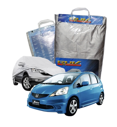 Cover Mobil / Sarung Mobil Honda Old / New Jazz Merk RUV