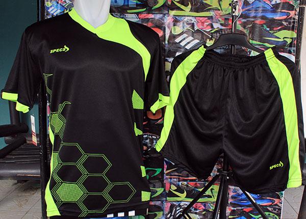 Jual Setelan Kaos Specs Heksa Hitam Stabilo(kostum futsal 0220812ecf