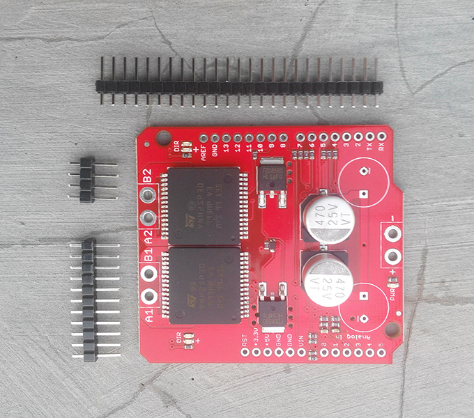 bildr Use The EasyDriver Stepper Motor Driver Arduino