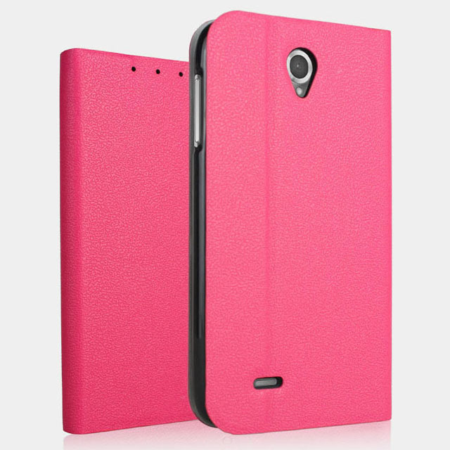 Jual Lenovo A850 BOGVED SOFT Leather Flip Case Flipcase