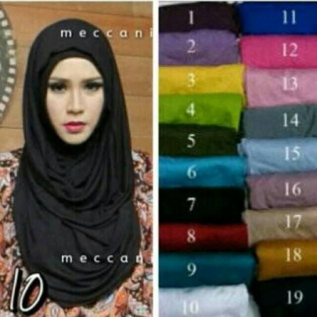 hijab long hanna / long mecca / hanna chsi