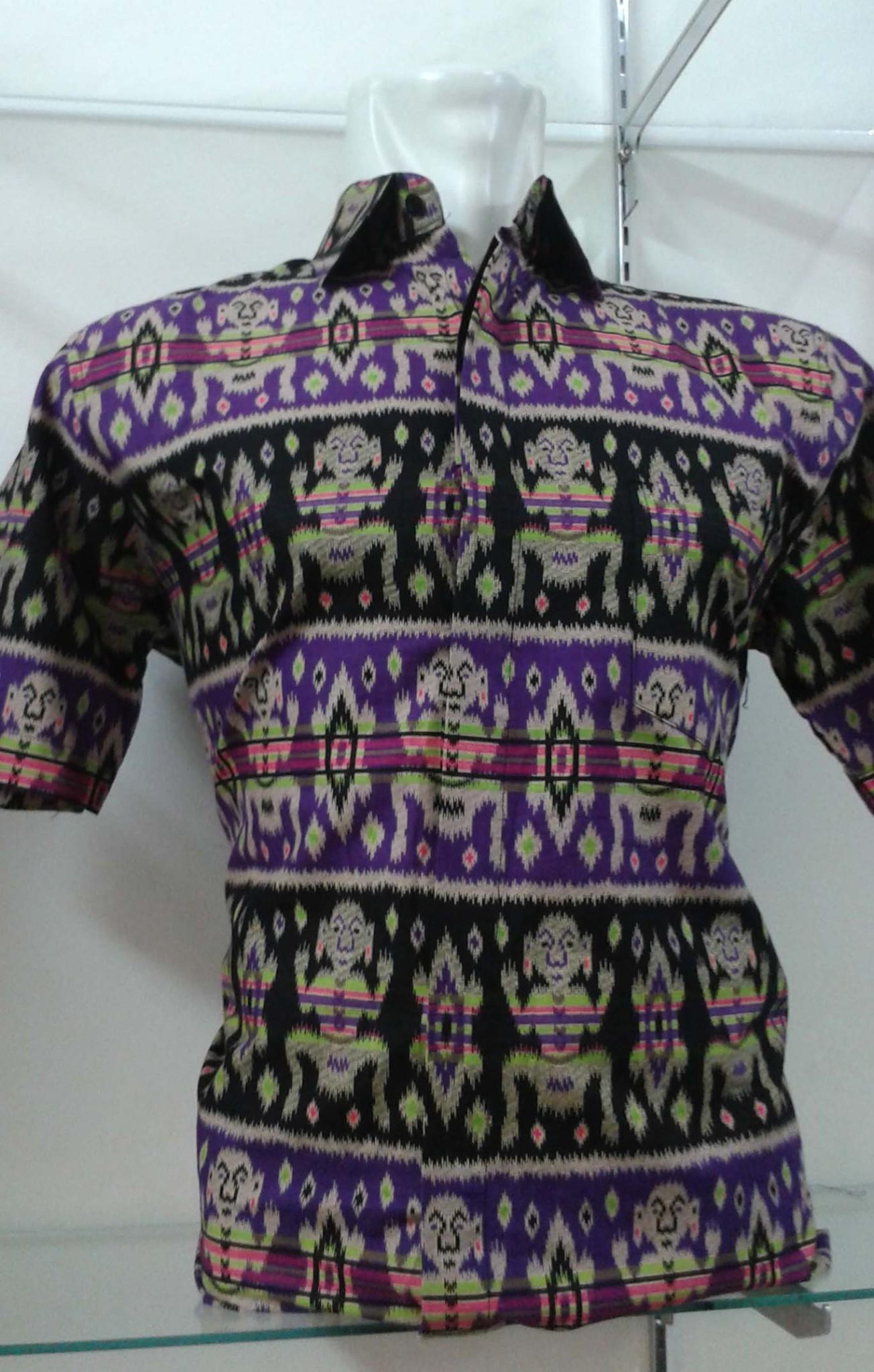 Jual Kemeja batik Patung Asmat Papua  Karang Citra  Tokopedia