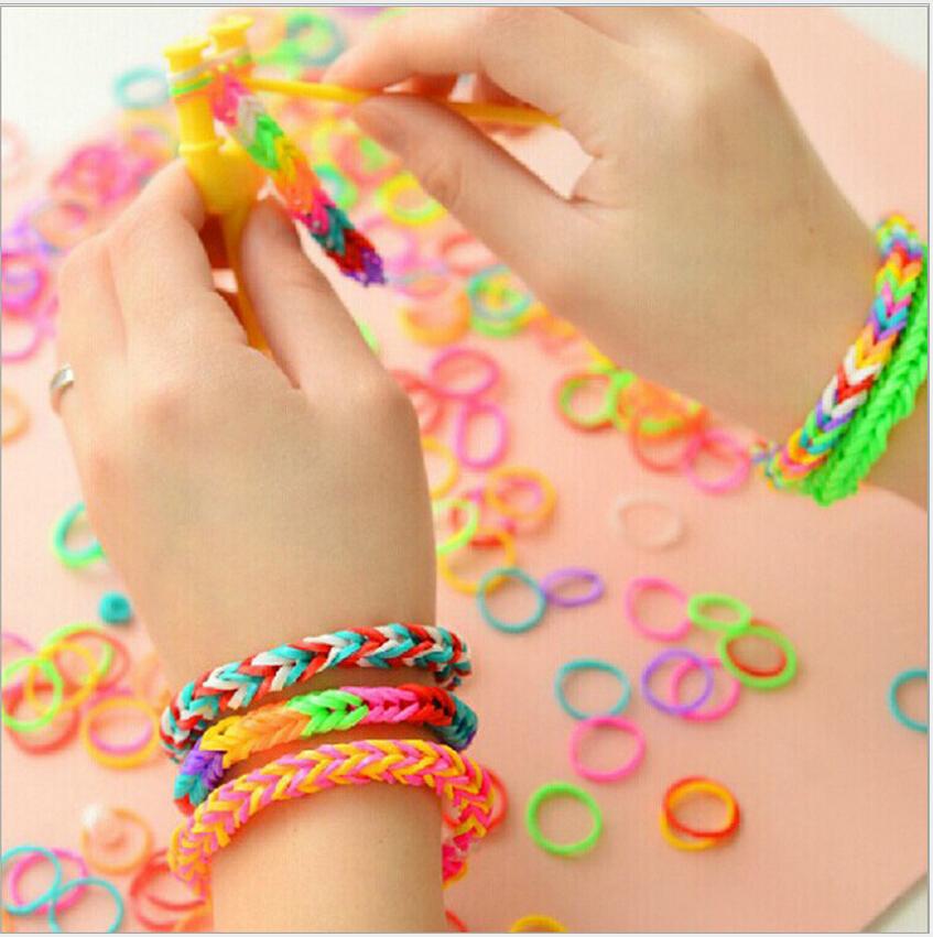 Как сделать и маленьких резинок браслет