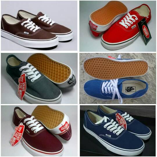 Jual sepatu vans authantic + box - jasmineafifahshop  d102ea22f2