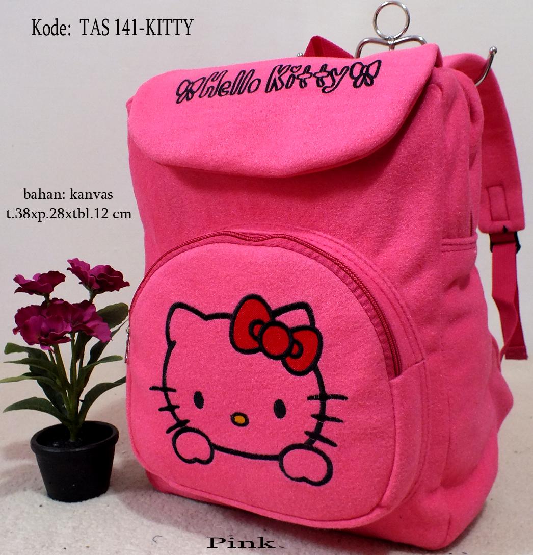 Jual Terbaru - Tas gendong sekolah anak perempuan Hello Kitty pink murah -  Toko Ransel Murah  4e44559ffa