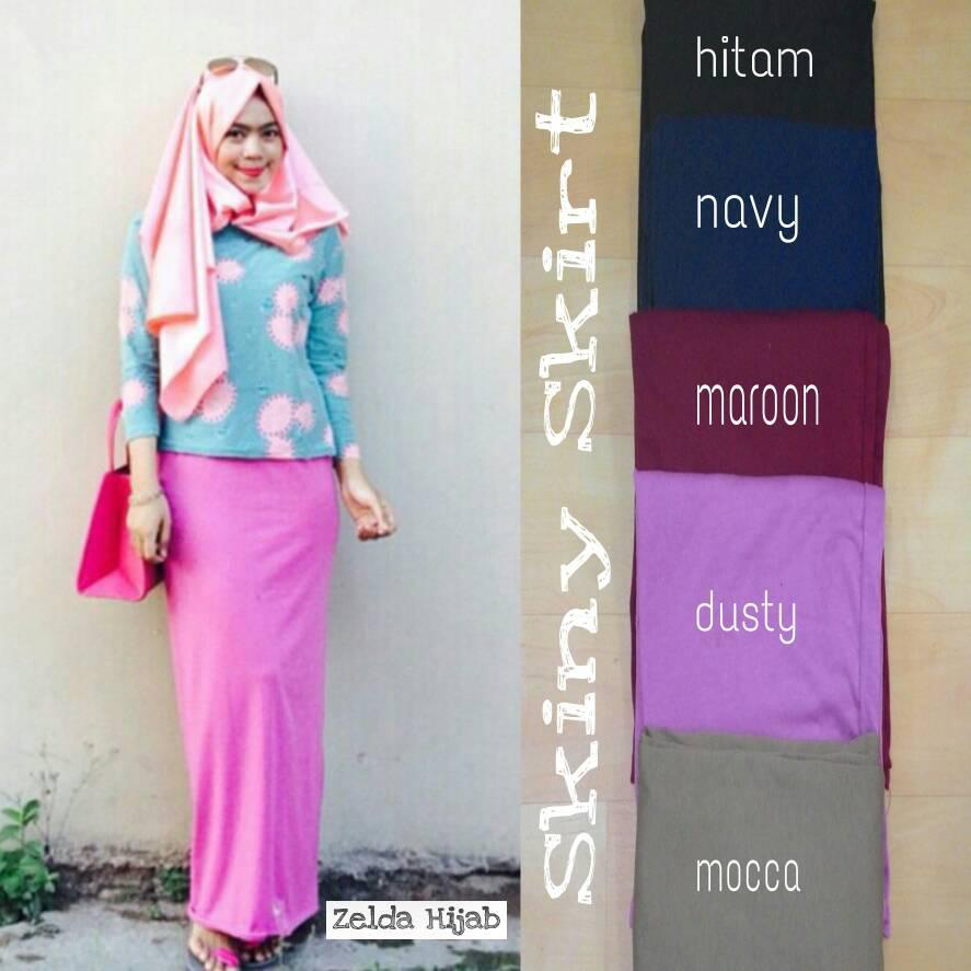 Grosir Hijab Skiny Skirt