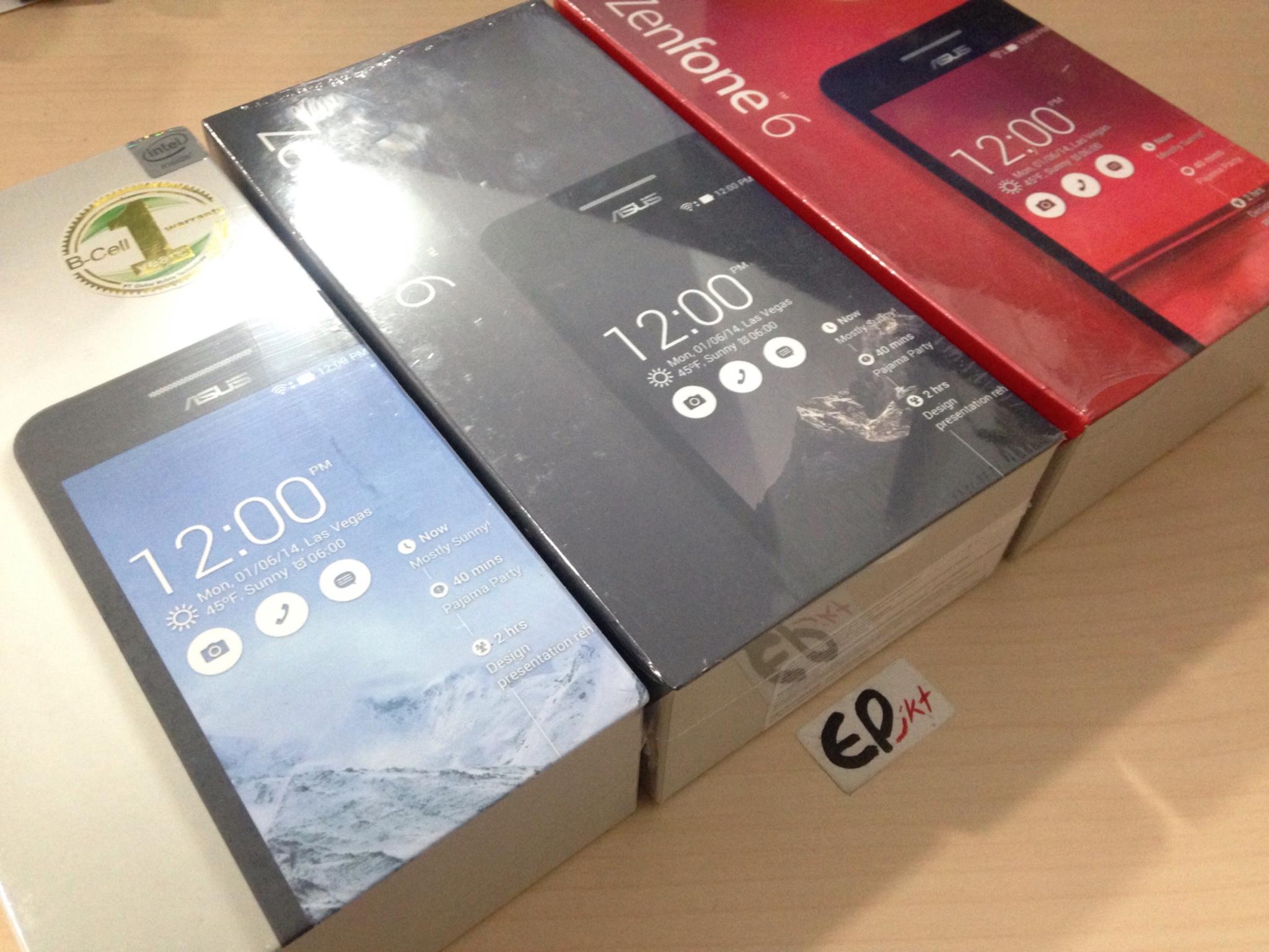 Jual ASUS ZENFONE 6 RAM 2GB ROM 16GB