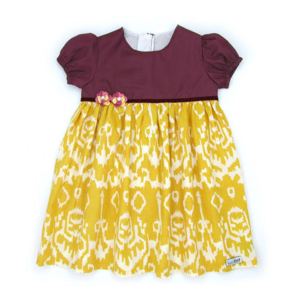 Dress Batik Cute Untuk Bayi