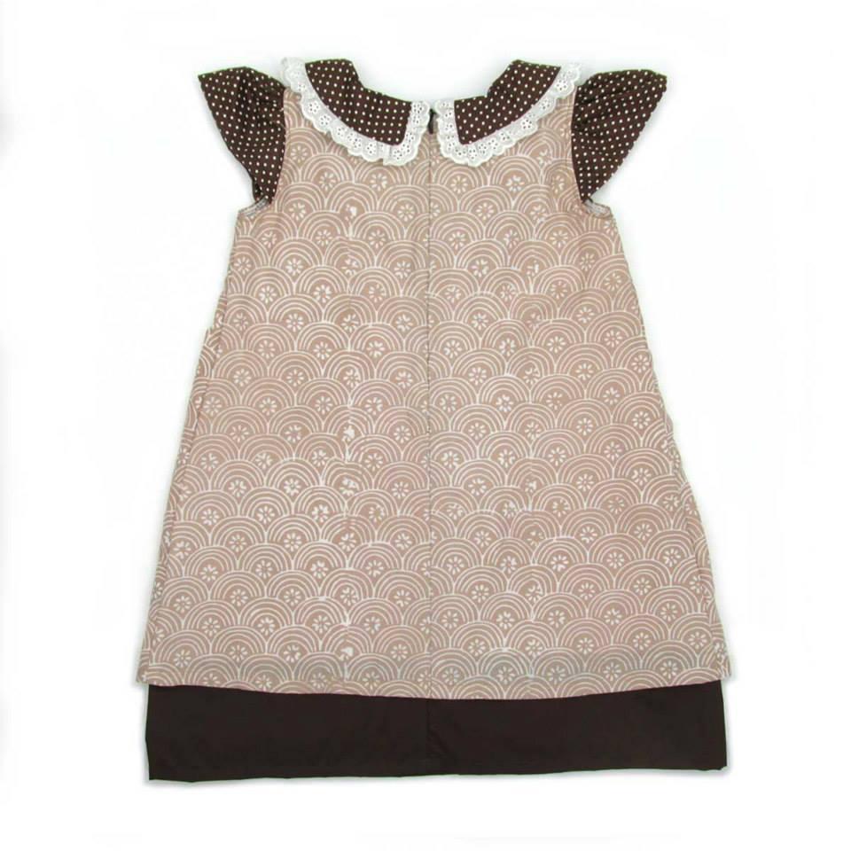 Dress Batik Cantik Untuk Bayi