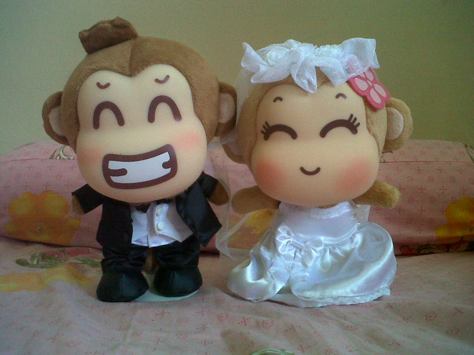 Jual Boneka Yoyo Cici Wedding Couple 25 Cm Original Kota