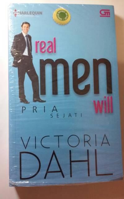 jual novel harlequin victoria dahl   real men will pria