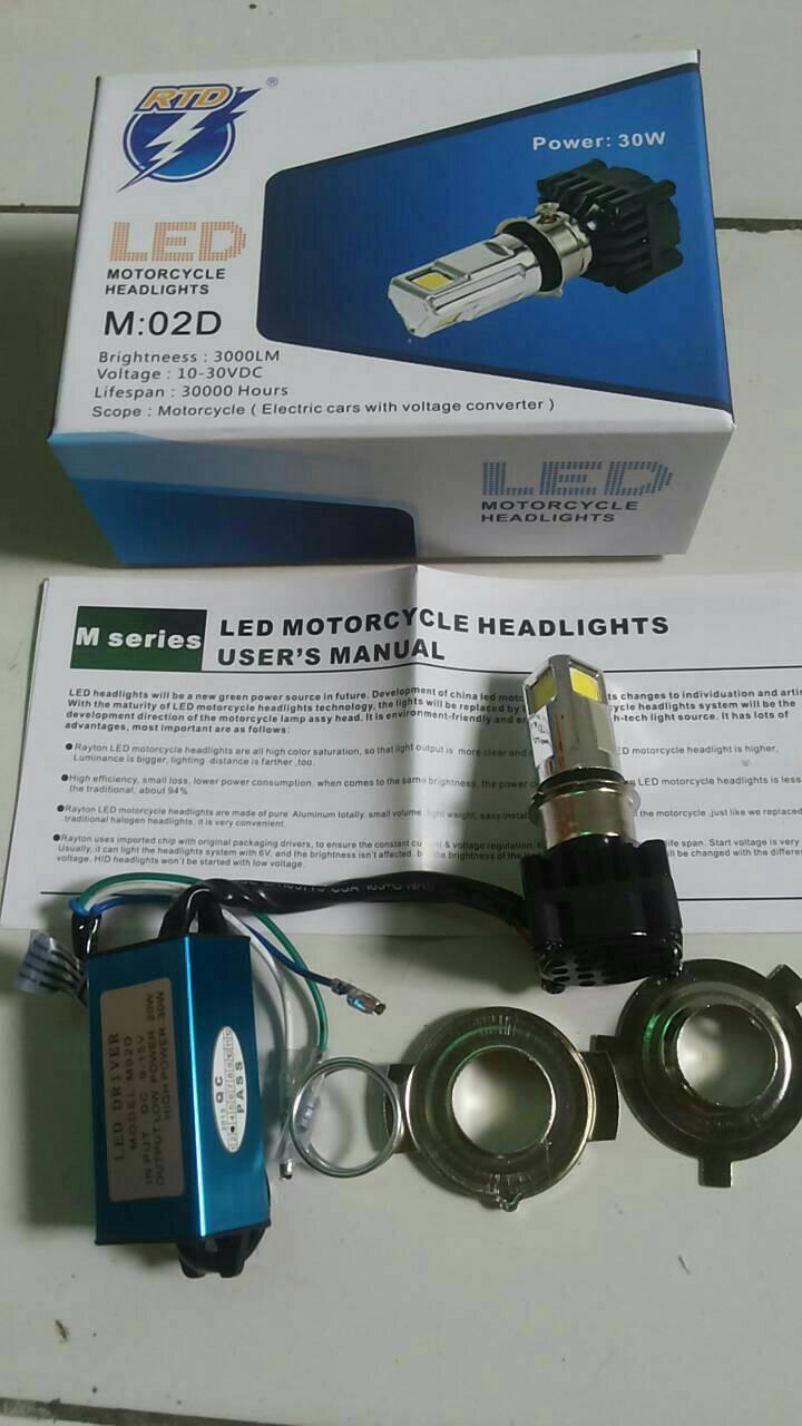 Rtd Lampu Led 3 Sisi High Low 40 Watt Daftar Harga Terlengkap Motor Lu Jual Titik Bisa Hi Original