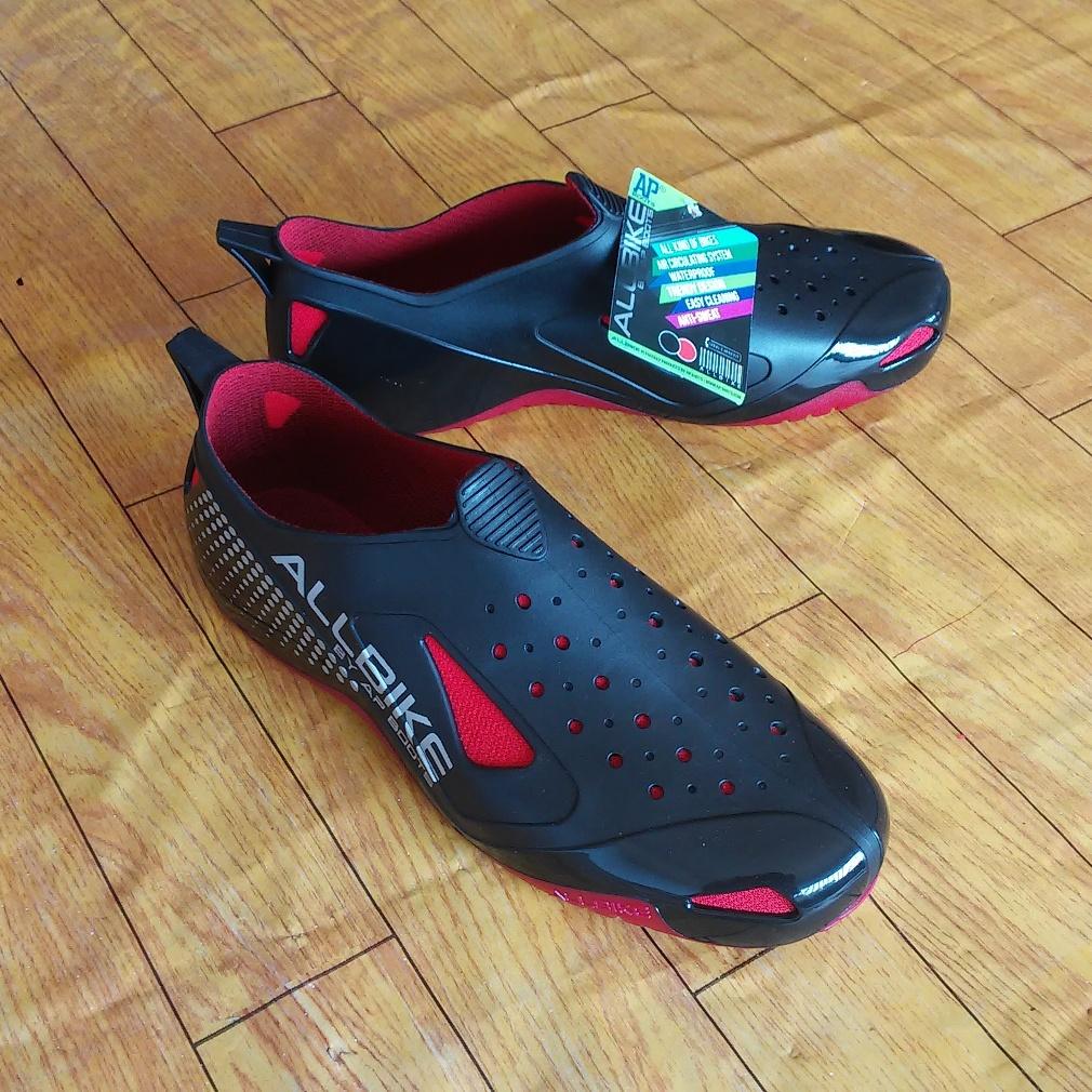 Harga Sepatu ALLBIKE utk BerSepeda, Olahraga & Naik Motor Grosir & Eceran