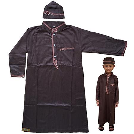 Baju Muslim Koko Gamis Anak Pria Laki 313 1sd12 Tahun Daftar