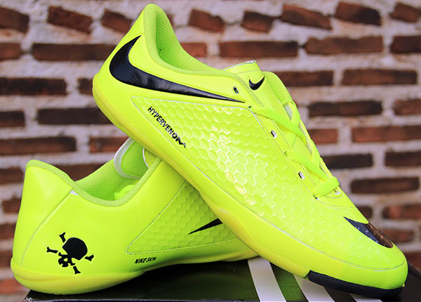 ... jual sepatu futsal, bola,Nike Hypervenom Hijau Strip Hitam KW Super ...