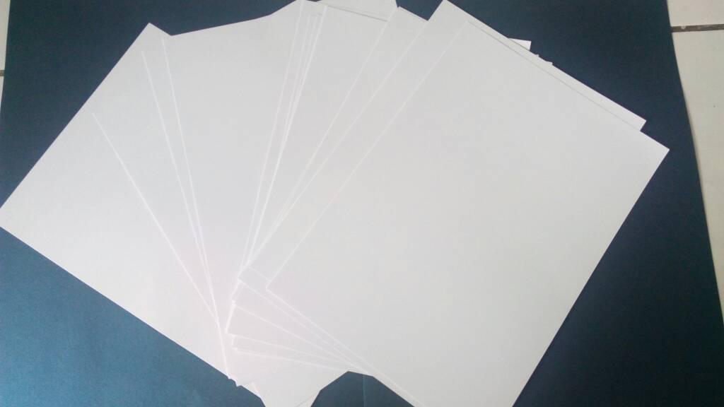 Jual kertas bc (brief card) putih A4 - paper van java