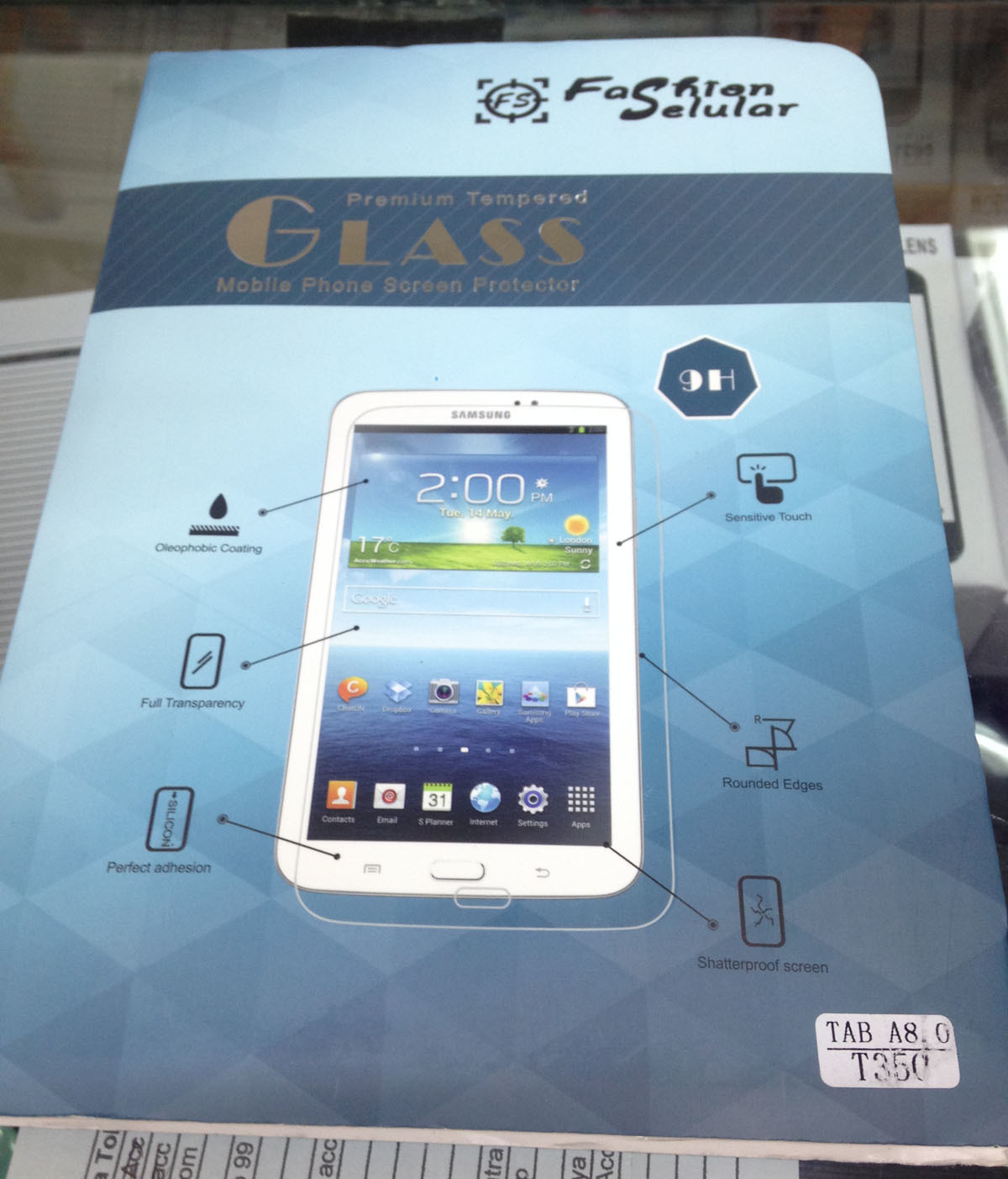 Jual Anti Gores Kaca Tempered Glass Samsung Tab A 8 Inch Standar Laptop Screen Protector Hp Pelindung Layar T350 Distributor Aksesoris Tokopedia