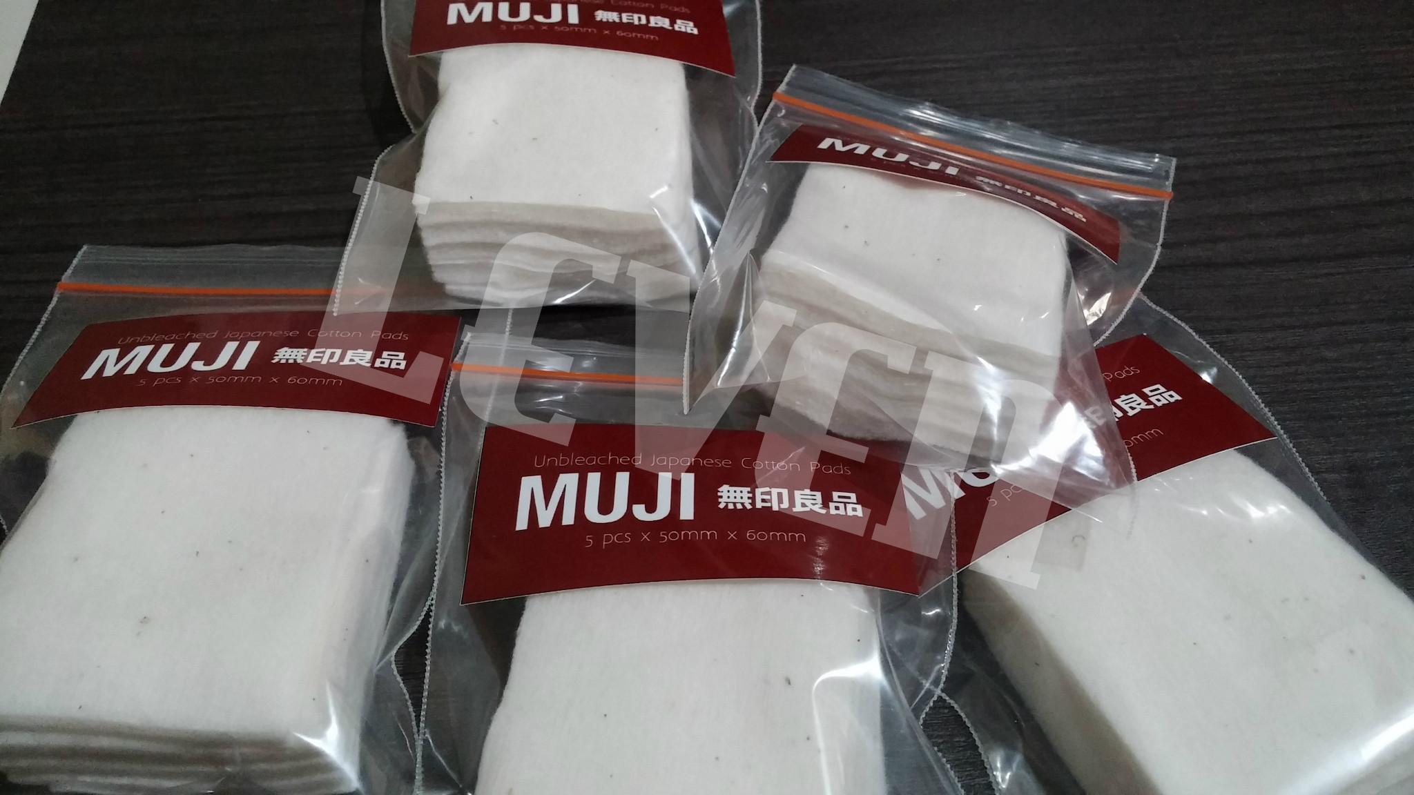 Kapas Muji Cotton 10pad Organic Daftar Harga Terlengkap Jepang Authentic Original Organik Impor Ecru Vape Vapor Japan Japanese Jual