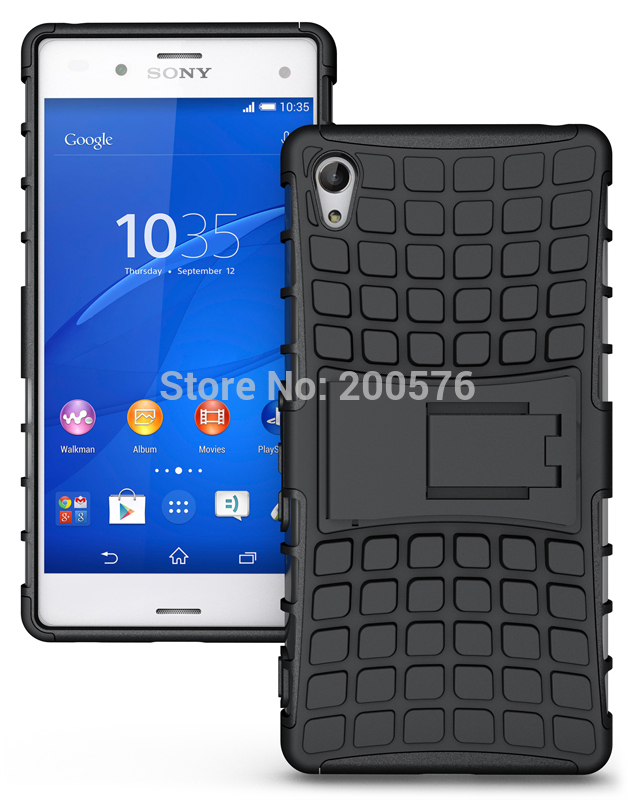 Xperia Z5 Dual Armor Case XPHASE Soft Gel Case Polycarbonate - SONY