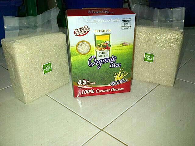 harga beras organic pure green Tokopedia.com