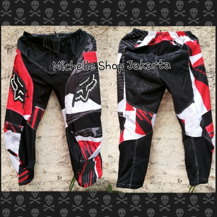 Jual Celana Motocross Fox New Model Red - Michelle Shop Jakarta ...