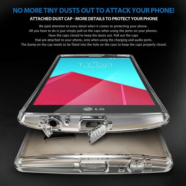 REARTH Ringke LG G4 Fusion - Clear