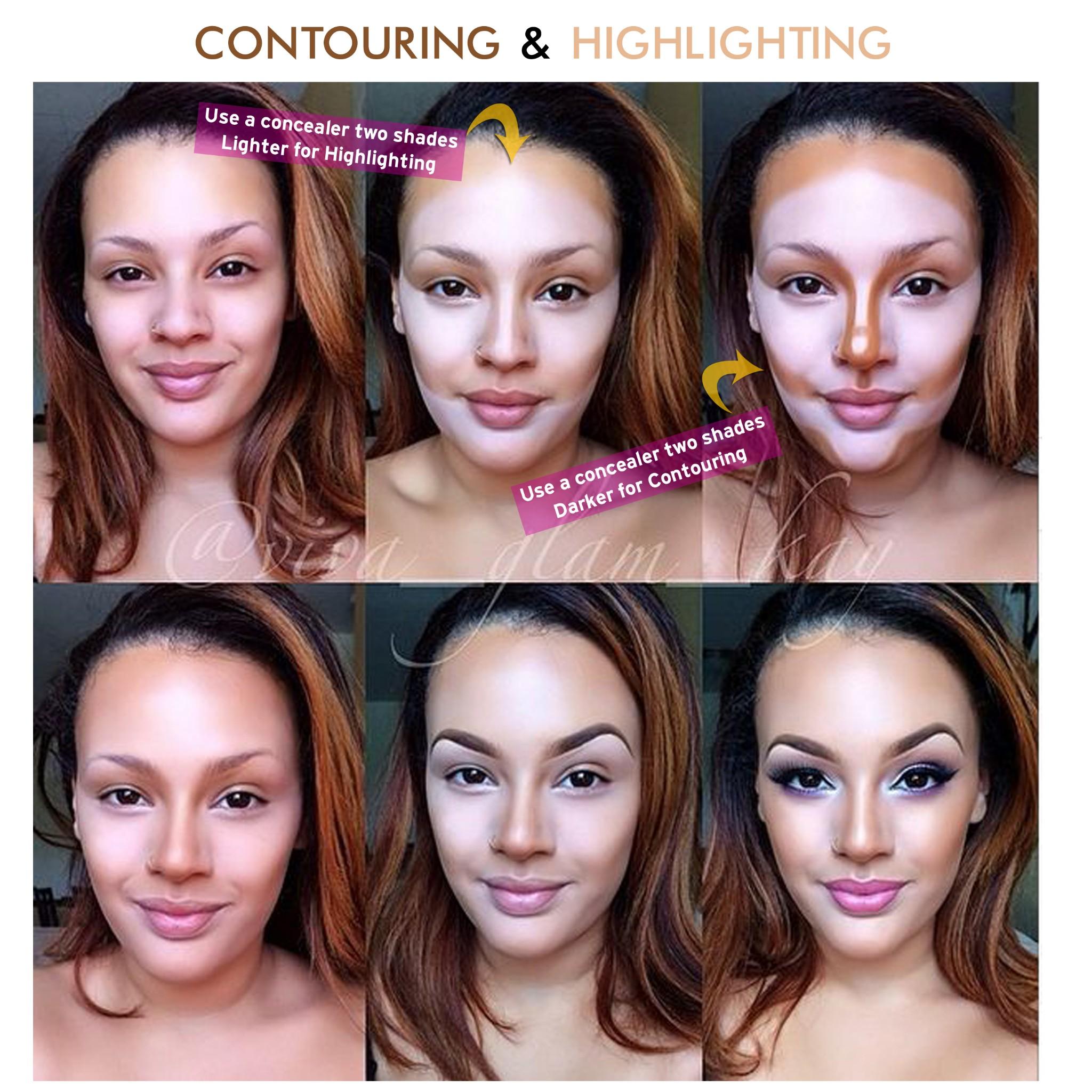 Как с помощью макияжа увеличить грудь