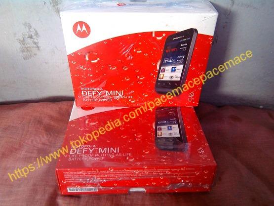 Motorola Defy Mini Xt321 Garansi Resmi 1Thn Segel Dual Simcard GSM-GSM