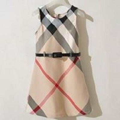 harga 005 - London Burberry Dress Tokopedia.com