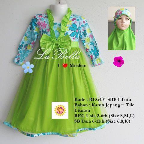 Jual Baju Muslim Anak Perempuan 39 Labella 39 Grosir Laviola