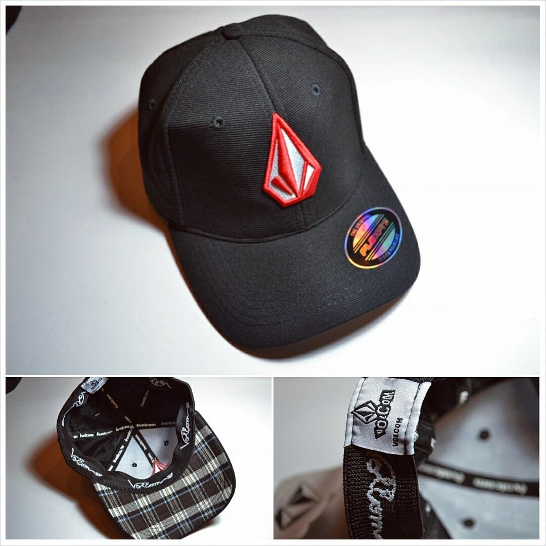 Jual Topi hats volcom flexfit logo stone red bordir - snick  o daisy ... 83c264dc13