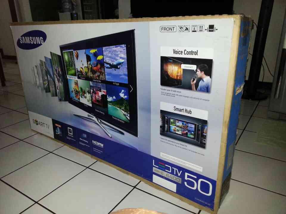 samsung 50 inch smart tv. ulasan produk samsung smart tv 50inch 3d 6400series mantap - tufik | tokopedia 50 inch tv m