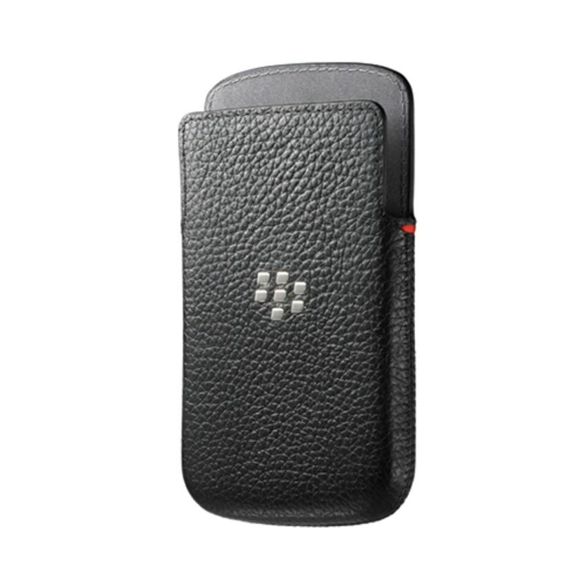 Blackberry Q20 Classic Leather Pouch - Hitam